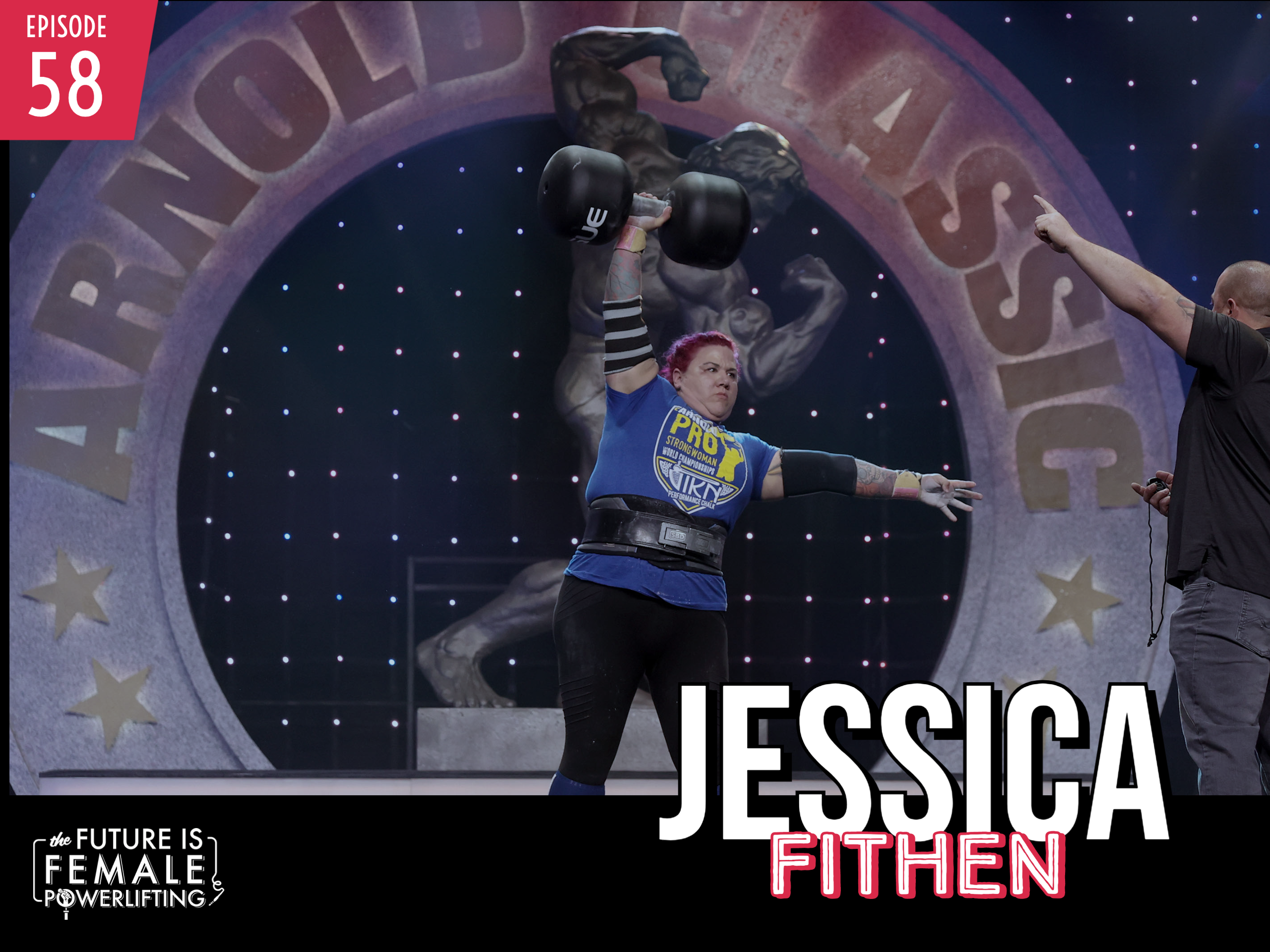 """""""You Look Like A Man"""" Creator & 2019 Strongest Woman World, Jessica Fithen"""